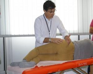massage du méridien principal de Zu Shao Yang ( VB), portion de la hanche