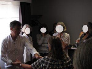 massage linéaire d'un méridien principal apr Martinez Marc